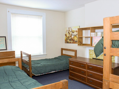 Alpha House bedrooms